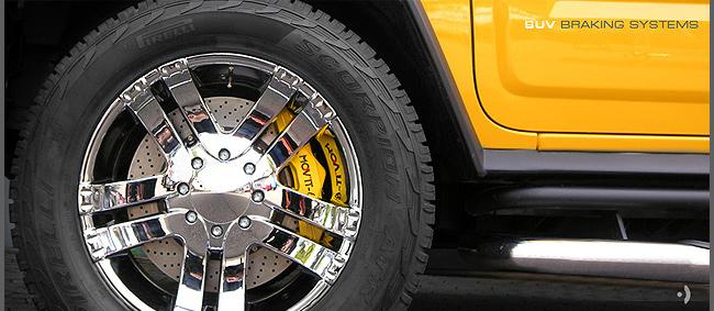 Kompetenzen - SUV Bremsanlage