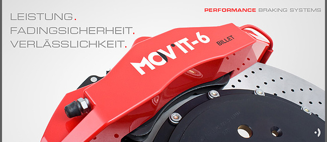 Produkte - MOV´IT® Performance-Bremssysteme