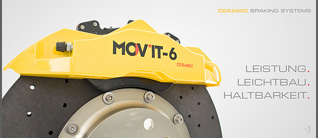 Produkte - MOV´IT-CER™ Keramik-Bremssysteme
